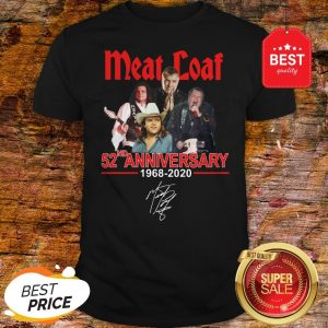 Official Meat Loaf 52ND Anniversary 1968-2020 Signature Shirt