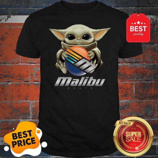 Official Baby Yoda Hug Malibu Boats Star Wars Shirt