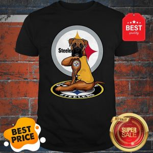 Official Boxer Tatoo Pittsburgh Steelers Logo Shirt