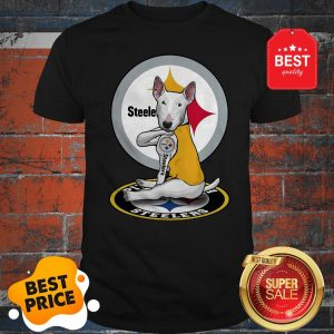 Official Bull Terrier Tattoo Pittsburgh Steelers Logo Shirt