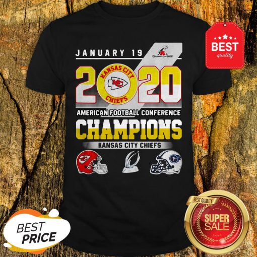 January 19 2020 American Football Conference Champions Kansas City Chiefs Shirt
