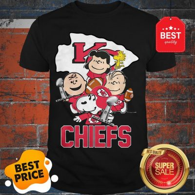 Official Snoopy Kansas City Chiefs Champion Peanuts Characters Shirt