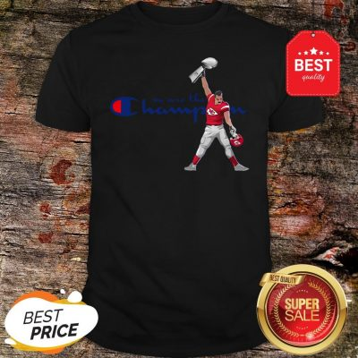 Official Kansas City Chiefs We Are The Champions Freddie Mercury Shirt