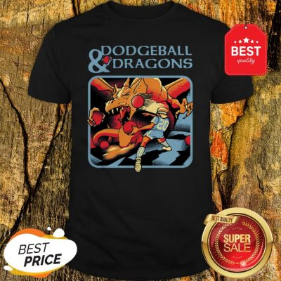 Official Dodgeball And Dragons Dungeons And Dragons Shirt