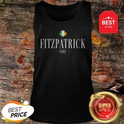 Official Fitzpatrick Eire St. Patrick's Day Irish Tank Top