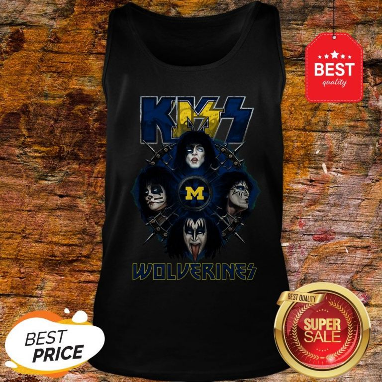 Official Kiss Band Wolverines Tank Top