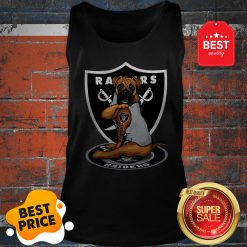 Official Boxer Tattoo Oakland Raiders Logo Tank Top