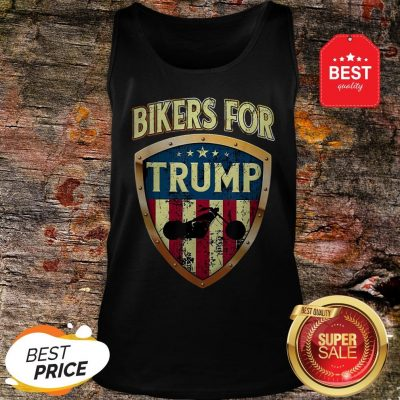 Official Bikers For Trump Motorcycle 2020 Tank Top