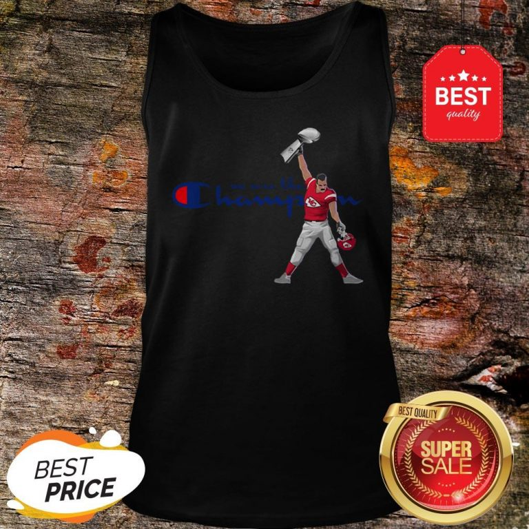 Official Kansas City Chiefs We Are The Champions Freddie Mercury Tank Top