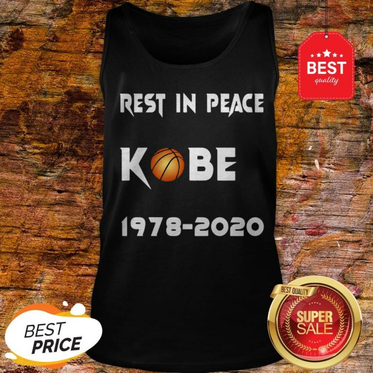 Official Rest In Peace Kobe Bryant 1978 2020 Tank Top