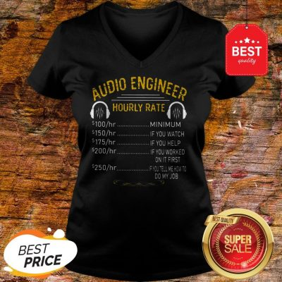 Official Audio Engineer Hourly Rate V-Neck