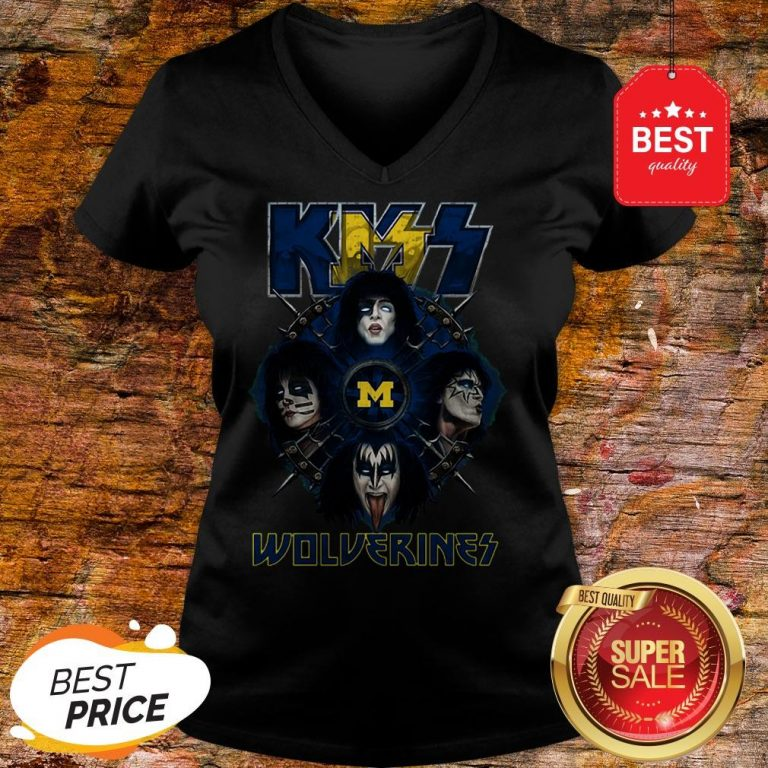 Official Kiss Band Wolverines V-Neck