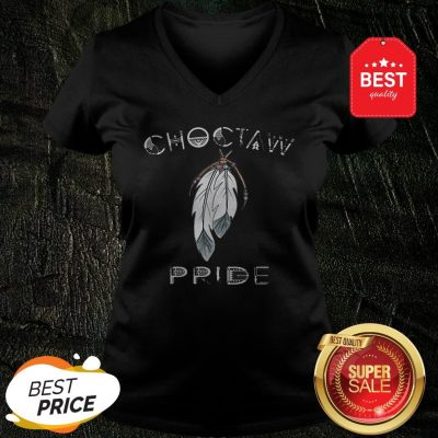 Official Feathers Choctaw Pride V-Neck