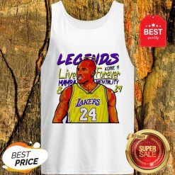 Official Kobe Bryant Legends Live Forever Mamba Mentality 8 24 Tank Top