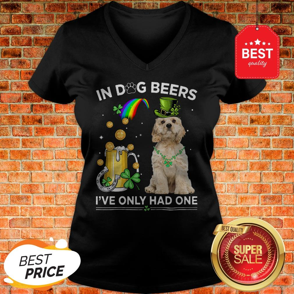 Official American Cocker Spaniel In Dog Beers I've Only Had One V-Neck