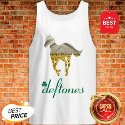 Official Beer Horse Mashup Deftones St. Patrick's Day Tank Top