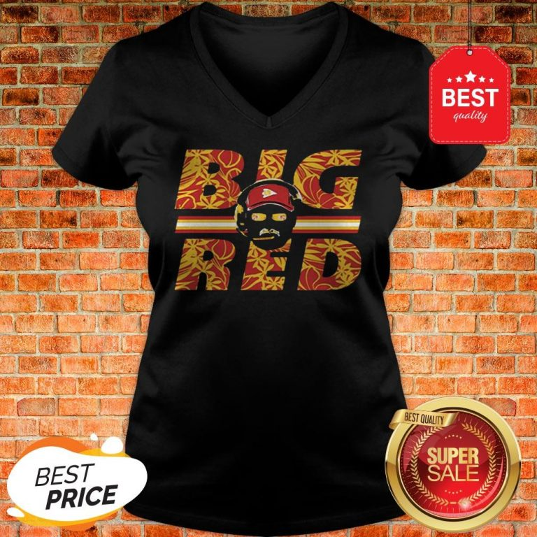 Official Big Red Andy Reid Kansas City Chiefs 2019 AFC Champions V-Neck