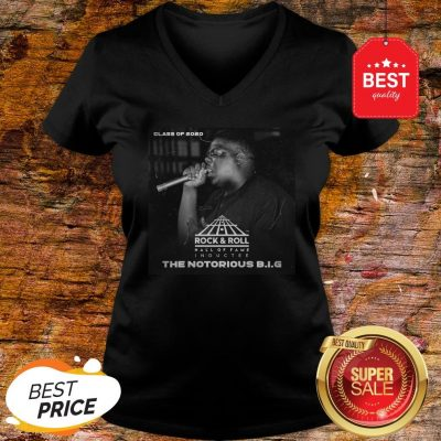 Official Class Of 2020 Rock & Roll Hall Of Fame The Notorious B.I.G V-Neck