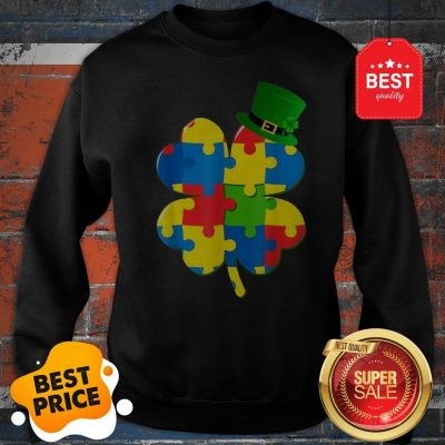 Official Autism St Patricks Day Sweatshirt