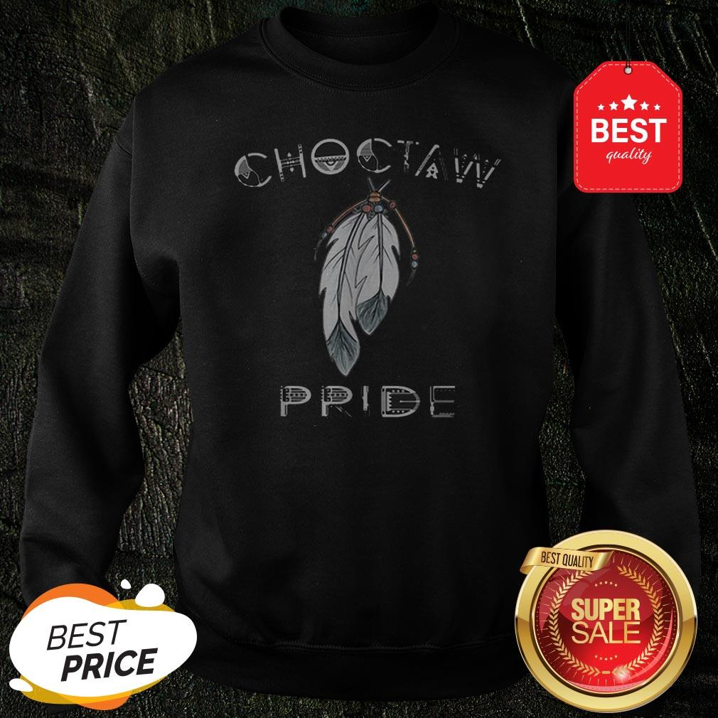 Official Feathers Choctaw Pride Sweatshirt