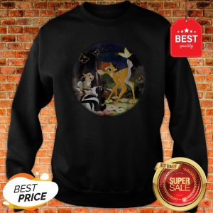 Official Disney Bambi Circle Sweatshirt