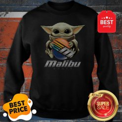 Official Baby Yoda Hug Malibu Boats Star Wars Sweatshirt