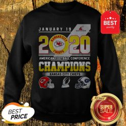 January 19 2020 American Football Conference Champions Kansas City Chiefs Sweatshirt