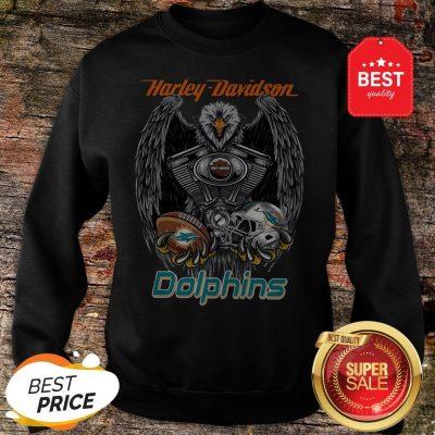 Official Harley Davidson Mashup Miami Dolphins Sweatshirt