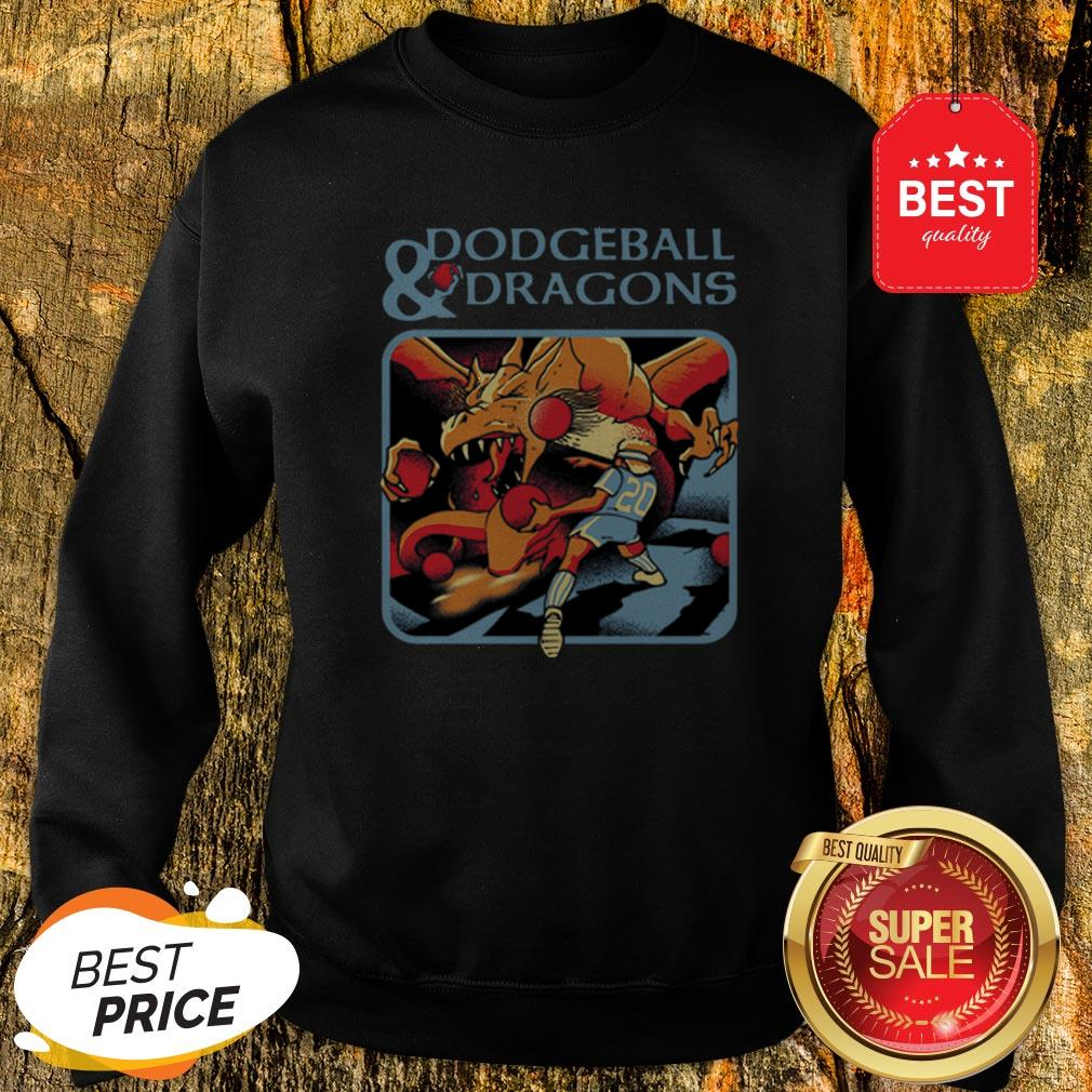Official Dodgeball And Dragons Dungeons And Dragons Sweatshirt