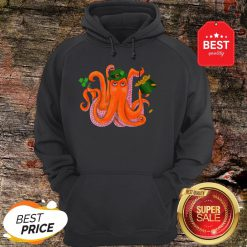 Official Funny Irish Octopus St Patrick's Day Hoodie