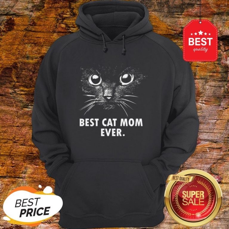 Official Best Cat Mom Ever Hoodie