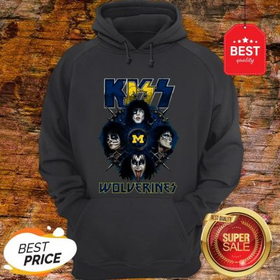 Official Kiss Band Wolverines Hoodie