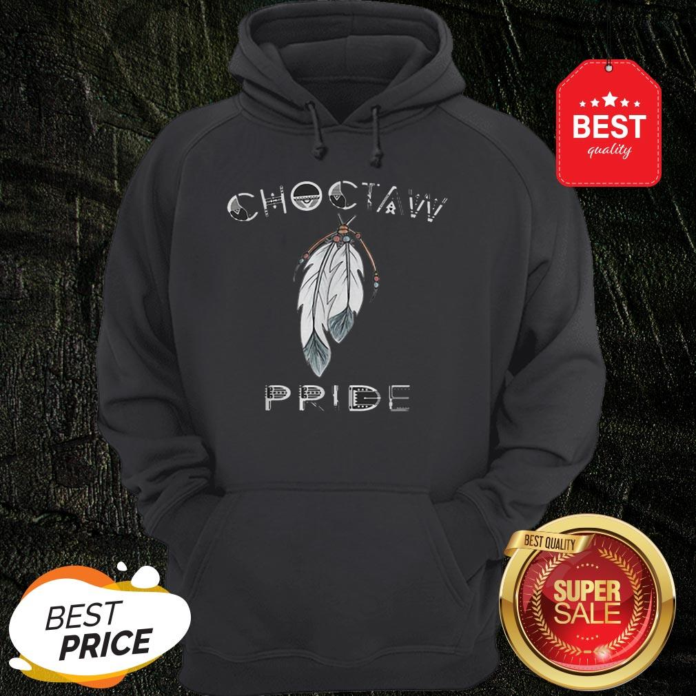 Official Feathers Choctaw Pride Hoodie