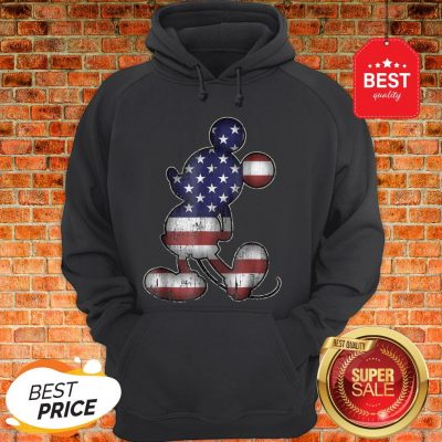 Official Disney Americana 4th Of July Mickey Mouse Hoodie