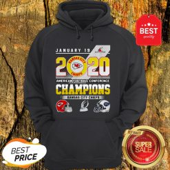 January 19 2020 American Football Conference Champions Kansas City Chiefs Hoodie