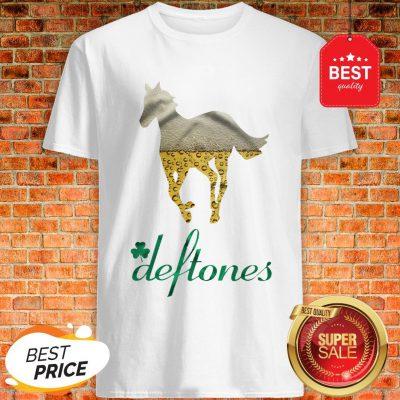 Official Beer Horse Mashup Deftones St. Patrick's Day Shirt