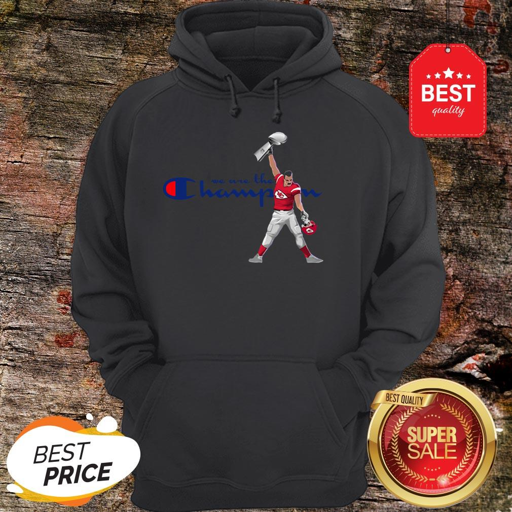 Official Kansas City Chiefs We Are The Champions Freddie Mercury Hoodie