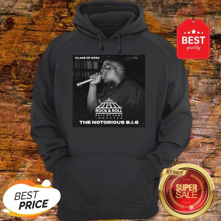 Official Class Of 2020 Rock & Roll Hall Of Fame The Notorious B.I.G Hoodie