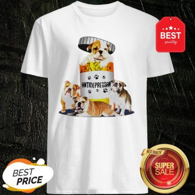 Official English Bulldog Antidepressant Shirt