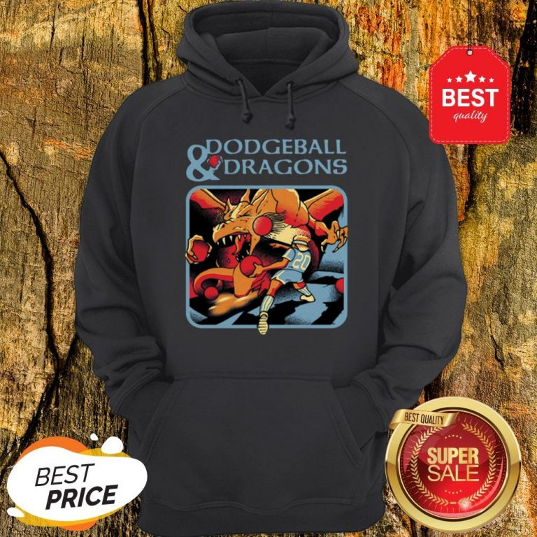 Official Dodgeball And Dragons Dungeons And Dragons Hoodie