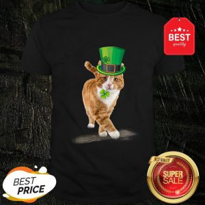 Official Friend Your Partner Your Cat St Patricks Day Shirt