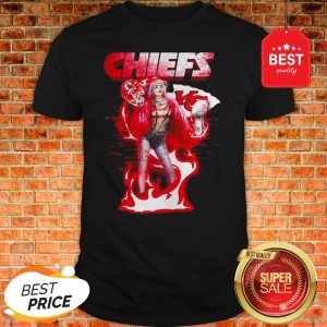 Harley Quinn Kansas City Chief Super Bowl LIV Shirt