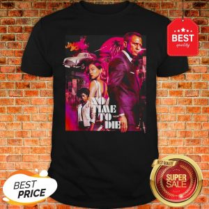 Official James Bond No Time To Die Shirt
