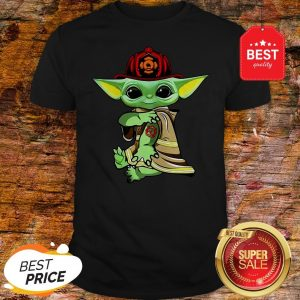Official Baby Yoda Tattoo Fireman Shirt