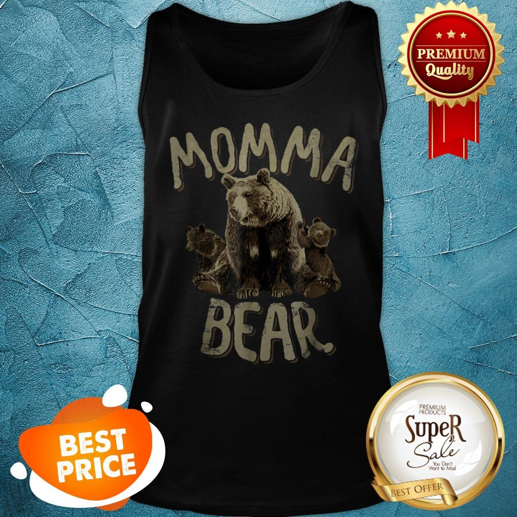 Beautiful Momma Bear – Mama Bear Mother's Day For Mom Tank Top