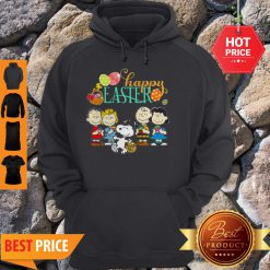 Official Peanuts Characters Happy Easter Hoodie