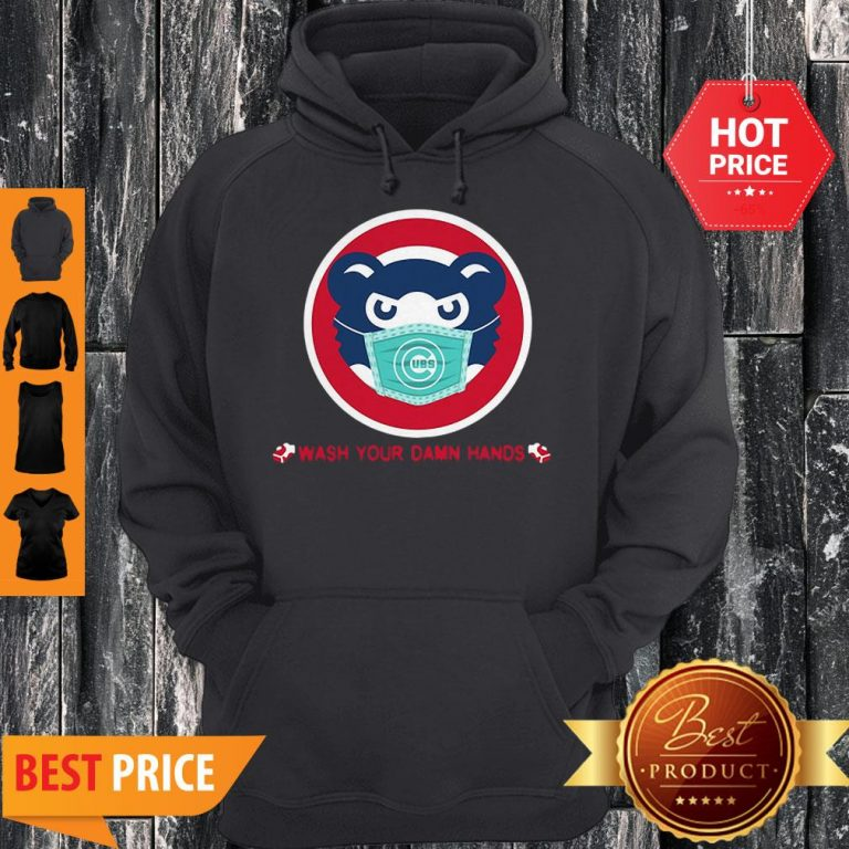 Chicago Cubs Wash Your Damn Hands Covid-19 Hoodie