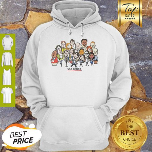 Office Chibi Characters Hoodie