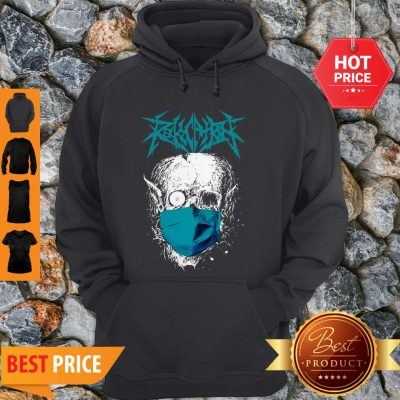 Official Revocation Stay Home Skull Hoodie