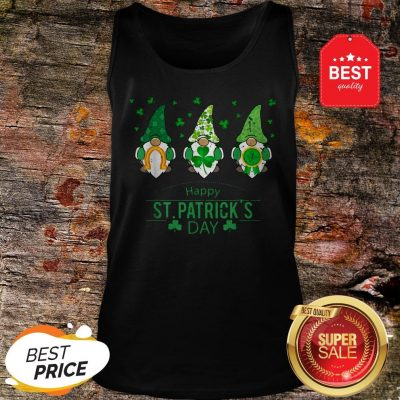 Happy St. Patrick's Day Gnome Costume Shamrock Gift Tank Top